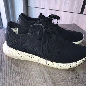 Adidas Black Tubular Sneakers